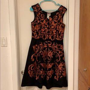Yoana Baraschi fit and flare dress